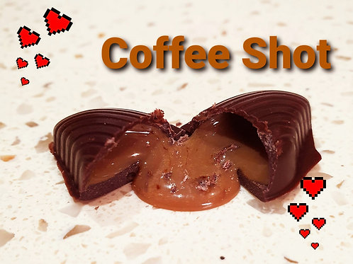 Coffee Shot Chocolate Pieces (4 Pieces)