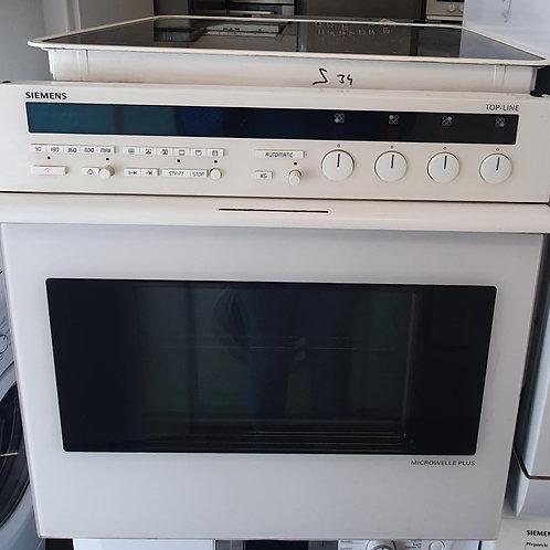 Siemens HE89020 Einbauherdset Ceran weiß
