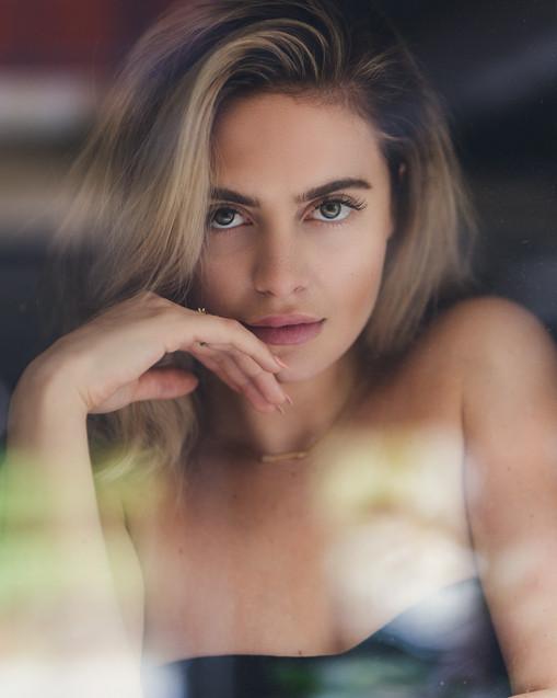 Model in Window