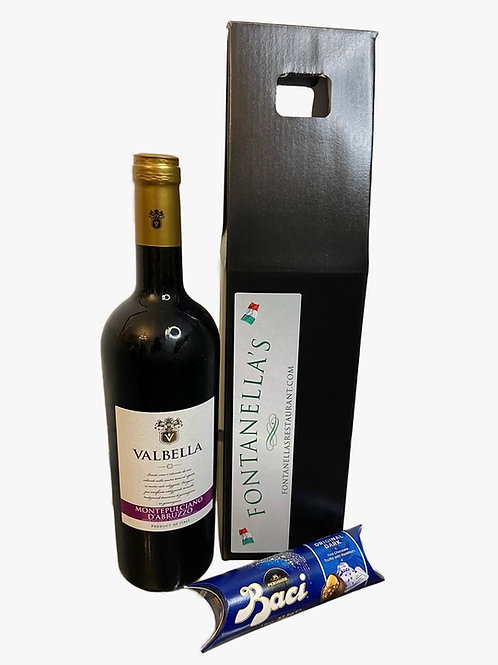 Vino and chocolates