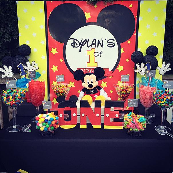 Marvelous Mickey Mouse Table Setup Ideas - Best Image Engine ...