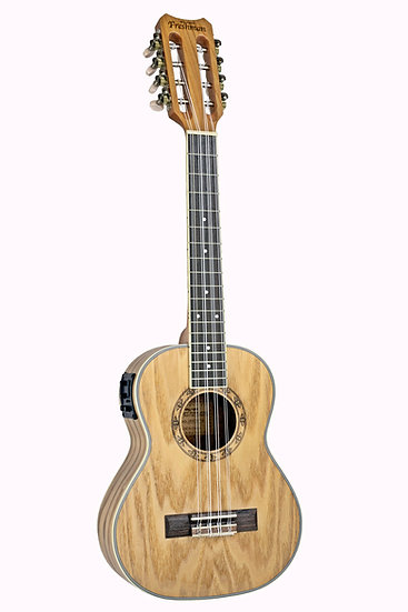 UKASHT8 Tenor All Ash 8 String + EQ Ukulele