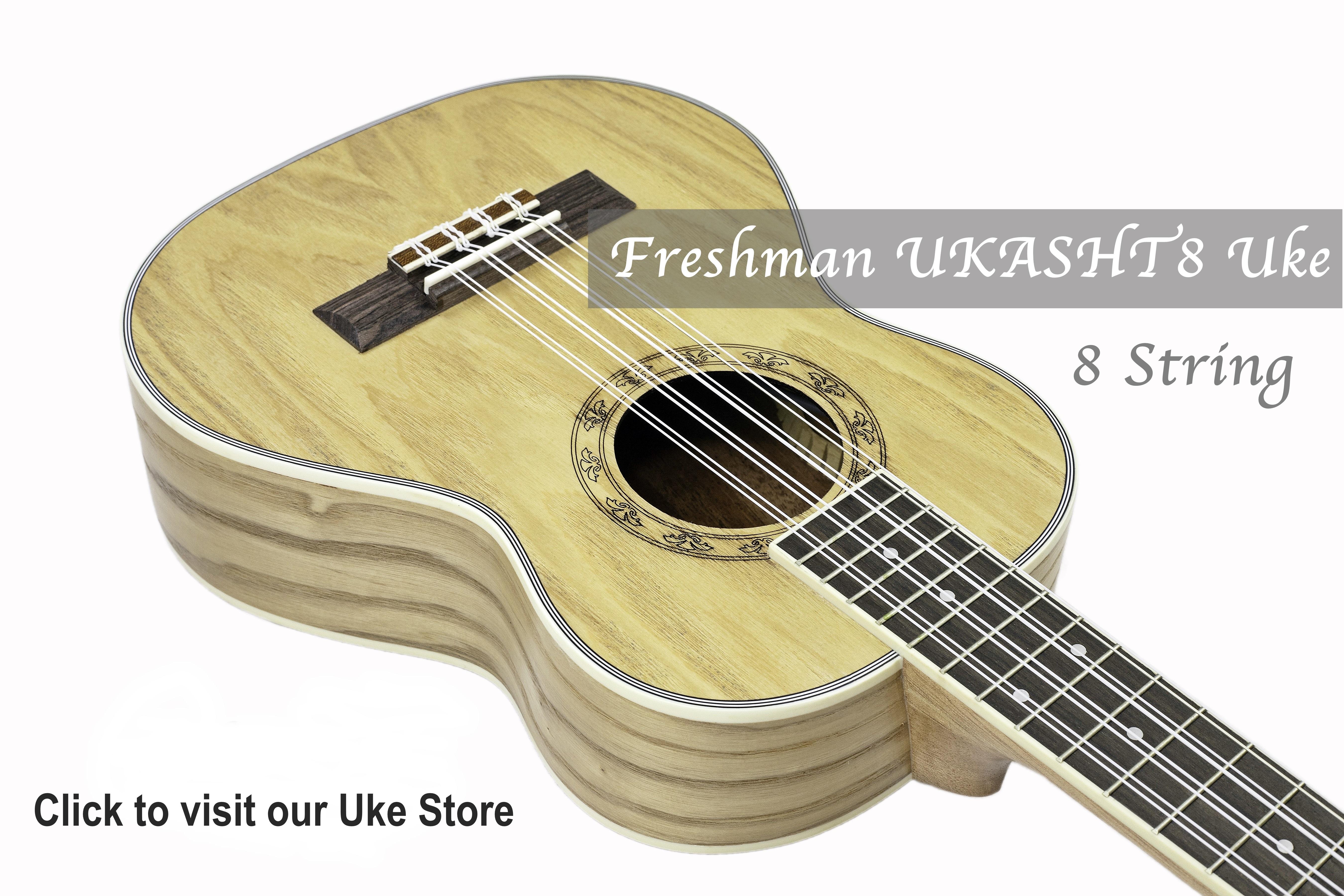 Freshman Guitars & Ukuleles