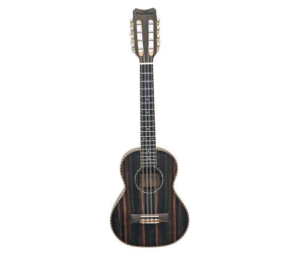 UKEBONYT8STRING Tenor Ebony 8 String Ukulele