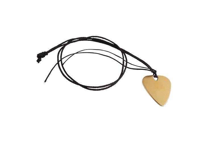 Metal Pick/Necklace (Copper)