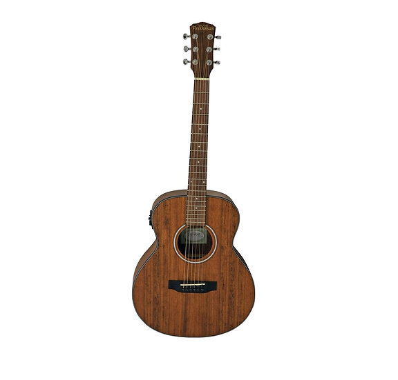 FAJNRWAL Small Body/Travel Solid Top Walnut Acoustic