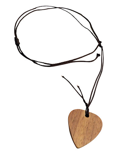 Wooden Walnut Guitar Pick