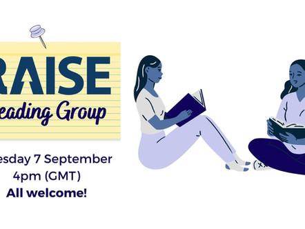 RAISE Reading Group: September 2021