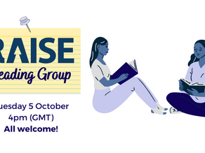 RAISE Reading Group: October 2021