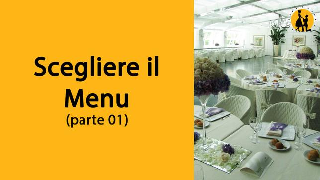 Scegliere il menù (parte 1)