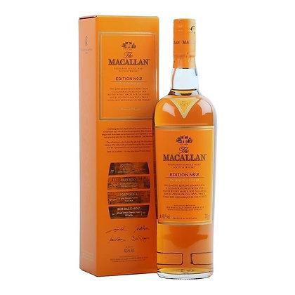 Macallan Edition No2- מקאלן מספר 2