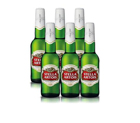 Stella Artois 6 pack - סטלה שישיה