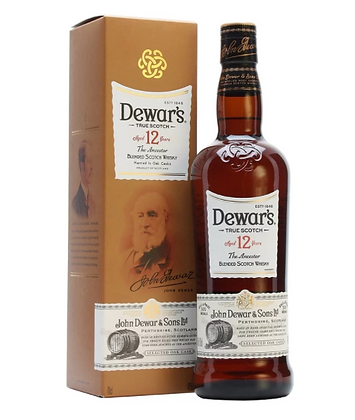 Dewars 12 - דיוארס 12 שנה 1 ליטר