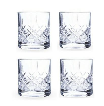 סט רביעיית כוסות אולד פאשן – Old Fashion glass 4 PACK