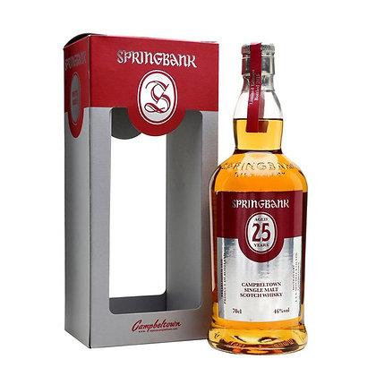 Springbank 25 - ספרינגבנק 25