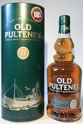 Old Pulteney 21 - אולד פולטני  21 משנת 2012