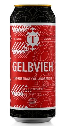 """ת'ורנברידג' גלבווי קלר ביר 440 מ""""ל – Thornbridge GELBVIEH"""
