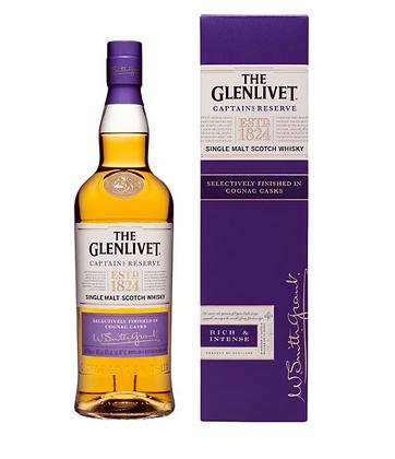 Glenlivet Captains Reserve -  גלנליווט קפטן רזרב