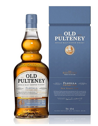 """אולד פולטני 10 פלוטילה 700 מ""""ל – Old Pulteney 10 Flotilla"""
