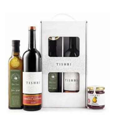 יקב תשבי מארז שי מס. 6 .Tishbi Gift Box No