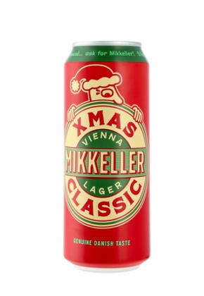 "מיקלר איקסמס פחית 500 מ""ל (5.6%) Mikkeller XMAS Classic can 500ml"