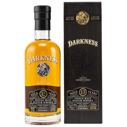"Benrinnes 13 PX Finish (Darkness) (50cl, 51.1%) - בנרינס 13 דרקנס 500מ""ל"