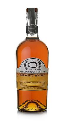 Golani Brewer's Whisky 50% - גולני תזקיק בירה מיושן בחבית 50%
