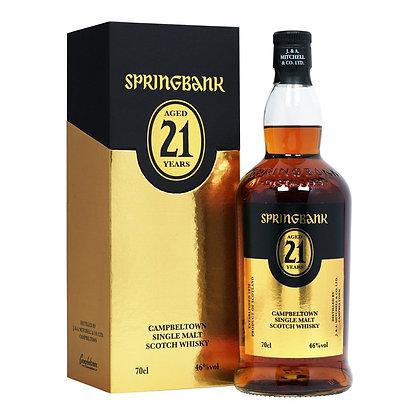 Springbank 21 Bottled 2020 - ספרינגבנק 21