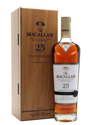 Macallan 25 Sherry Oak 2020- מקאלן 25 שרי אוק