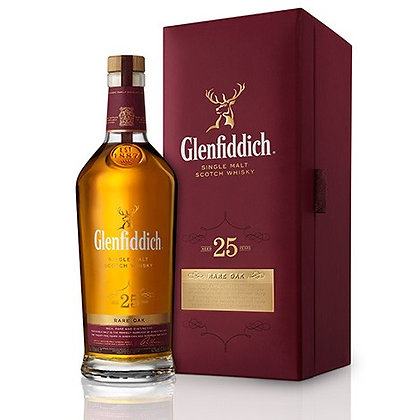 Glenfiddich 25 Rare Oak - גלנפידיך 25