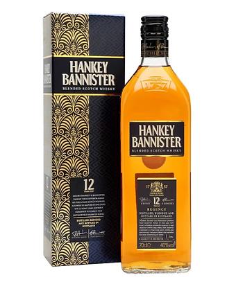 Hankey Bannister 12 - הנקי בניסטר 12 שנה 1 ליטר