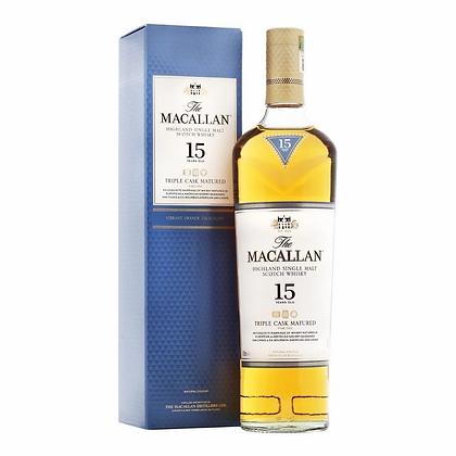 Macallan 15 Triple cask - מקאלן 15 טריפל קאסק