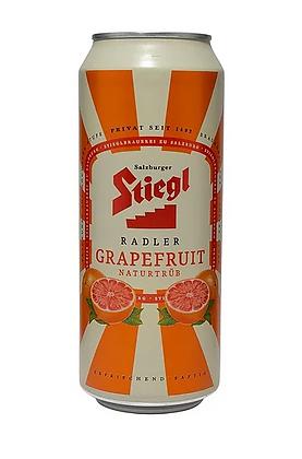 "Stiegl Grapefruit - שטיגל לאגר אשכולית 500 מ""ל פחית"