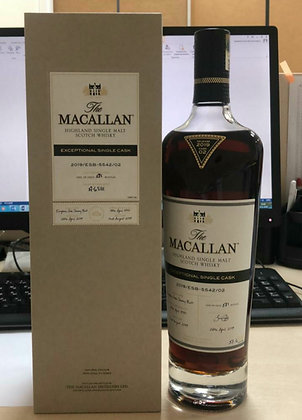 Macallan Exceptional Single Cask 1997 Cask 5542 - מקאלן אקספשן 22שנה