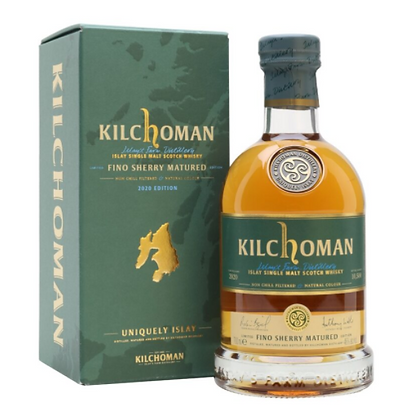 Kilchoman Fino Sherry - קילכומן פינו שרי מהדורה 2020)