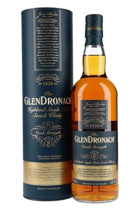 Glendronach Cask Strenth batch 8 - גלנדרונך חוזק חבית באצ' 8 (61%)