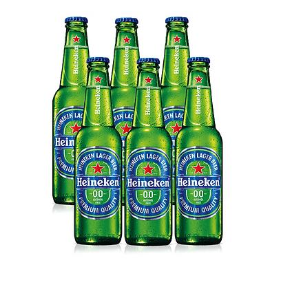 Heineken 0%  6 pack - הייניקן 0% ללא אלכוהול שישיה