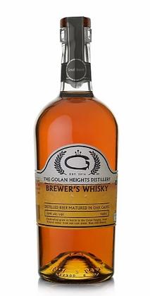 Golani Brewer's Whisky - גולני תזקיק בירה מיושן בחבית