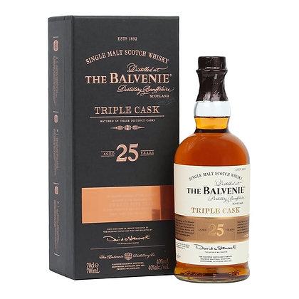 Balvenie 25 Triple Cask - בלוויני 25 טריפל קאסק