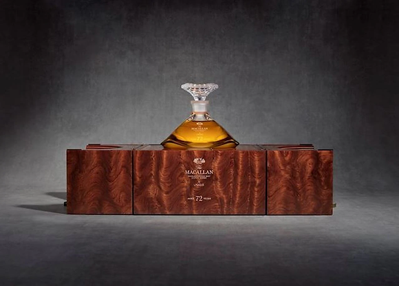 Macallan 72 Lalique - מקאלן 72 שנה לאליק