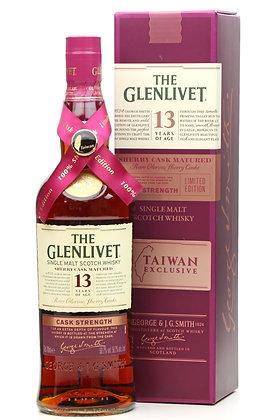 Glenlivet 13 Sherry Cask Strenth -  גלנליווט 13 שרי חוזק חבית