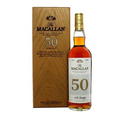 Macallan 50 Sherry Oak- מקאלן 50 שרי אוק