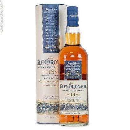 Glendronach 18 Tawny Port Cask Finish -  גלנדרונך 18 טואייני פורט