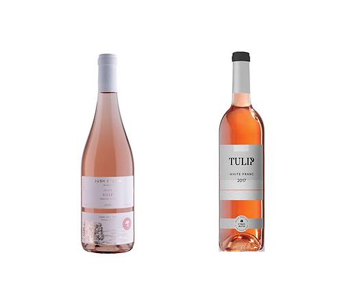 זוג יינות רוזה  טוליפ - גוש עציון
