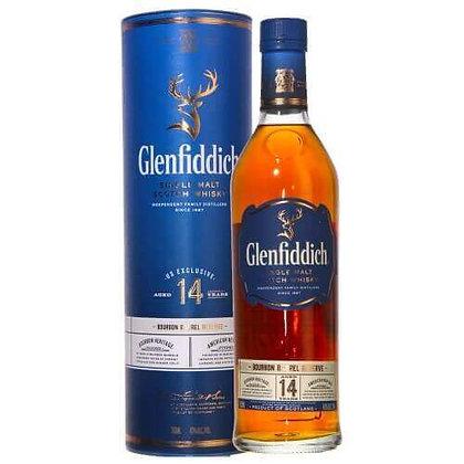 Glenfiddich 14 Bourbon - גלנפידיך 14 בורבון