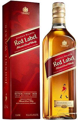 "Johnnie Walker Red Label - ג'וני ווקר רד לייבל 700מ""ל"