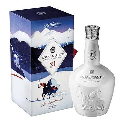 Chivas Royal Salute Snow polo - שיבס רויאל סלוט 21 שנה סנואו פולו 46.5%