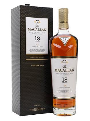 Macallan 18 Sherry cask 2018 - מקאלן 18 שרי קאסק