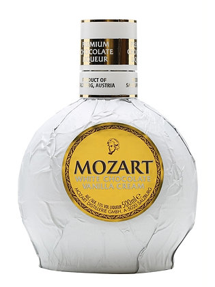 "Mozart White Chocolate - מוצארט ליקר שוקולד לבן 500 מ""ל"