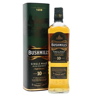 Bushmils 10- בושמילס 10 שנה